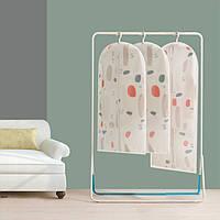 Одежда Одежда Чехлы Protector Breathable Dustproof Водонепроницаемы Вешалка для хранения одежды Сумка для пальто Платье Шкаф для одежды Windcoat
