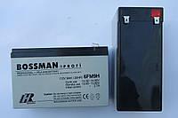 Аккумулятор 12V 9Ah Bossman profi 6FM9 - LA1290HR, фото 1