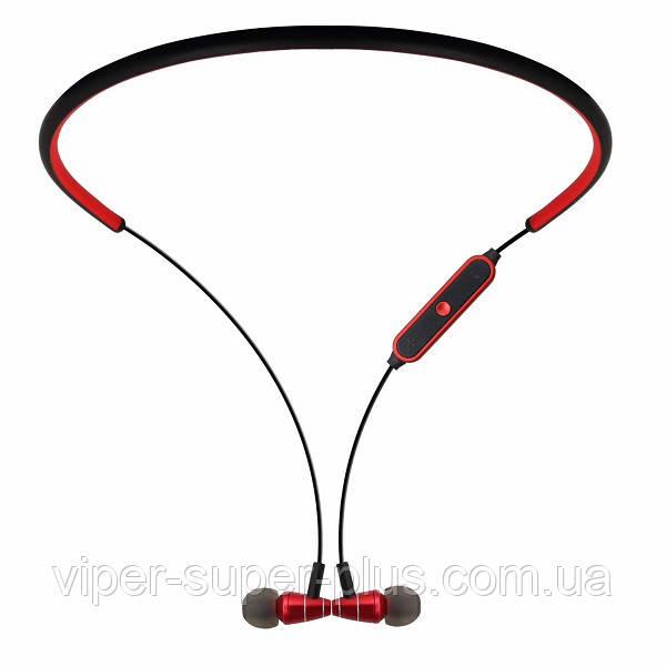Стерео Блютуз (Bluetooth 4.1) наушник JAKCOMBER STN-780 ( Красный ) без лишних проводов с микрофоном