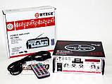 Усилитель Звука AV-326A FM USB 2x200 Вт, фото 4