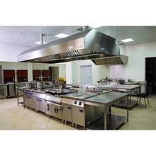 Монтаж вентиляции в горячем цехе ресторана (кафе, столовой)