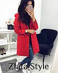Стильное женское пальто из кашемира, фото 2