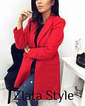 Стильное женское пальто из кашемира, фото 3
