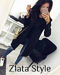 Стильное женское пальто из кашемира, фото 8