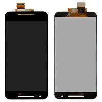 Дисплей (экран) для LG H791 Nexus 5X с сенсором (тачскрином) черный Оригинал, фото 2