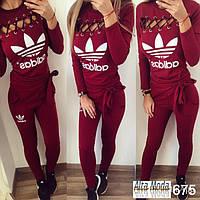 Спортивный женский костюм adidas № 675
