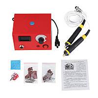 50W Многофункциональная машина для пирографии Gourd Wood Burning Ручка Craft Инструмент Набор Комплект US Plug