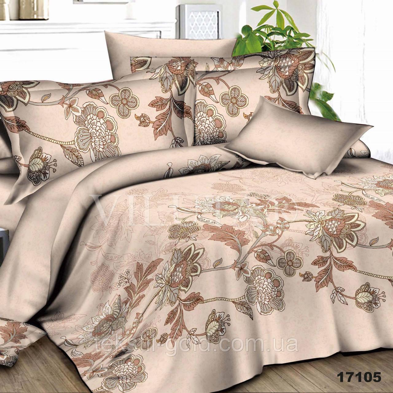 Семейный комплект постельного белья VILUTA ранфорс 17105
