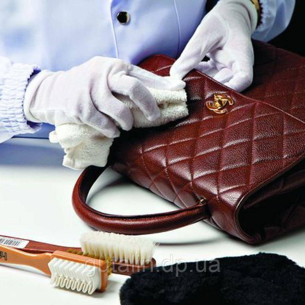Чистка сумок и других изделий из кожи