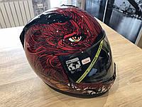 Мотошлем Icon Alliance Lucifer Helmet невероятно крутой и злой)) размер S (55-56 см) , фото 1