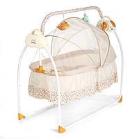 Смарт-электрик Детская кроватка Музыкальная колыбель Детская кроватка Авто-свинг Спящая кровать Детские постельные принадлежности Диста