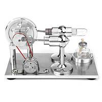 Горячий воздух Стирлинг Двигатель Модель Электричество Генератор энергии Мотор Игрушечные наборы Подарок