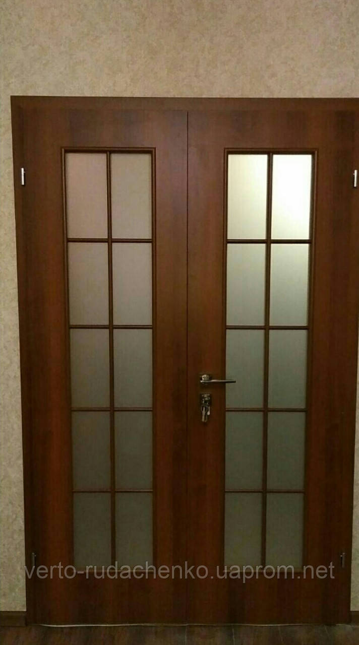 Двери Verto Стандарт 2А цвет Орех «Симплекс»