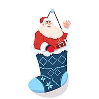 Рождество Носки с 2 штук Солнечная Фонарь
