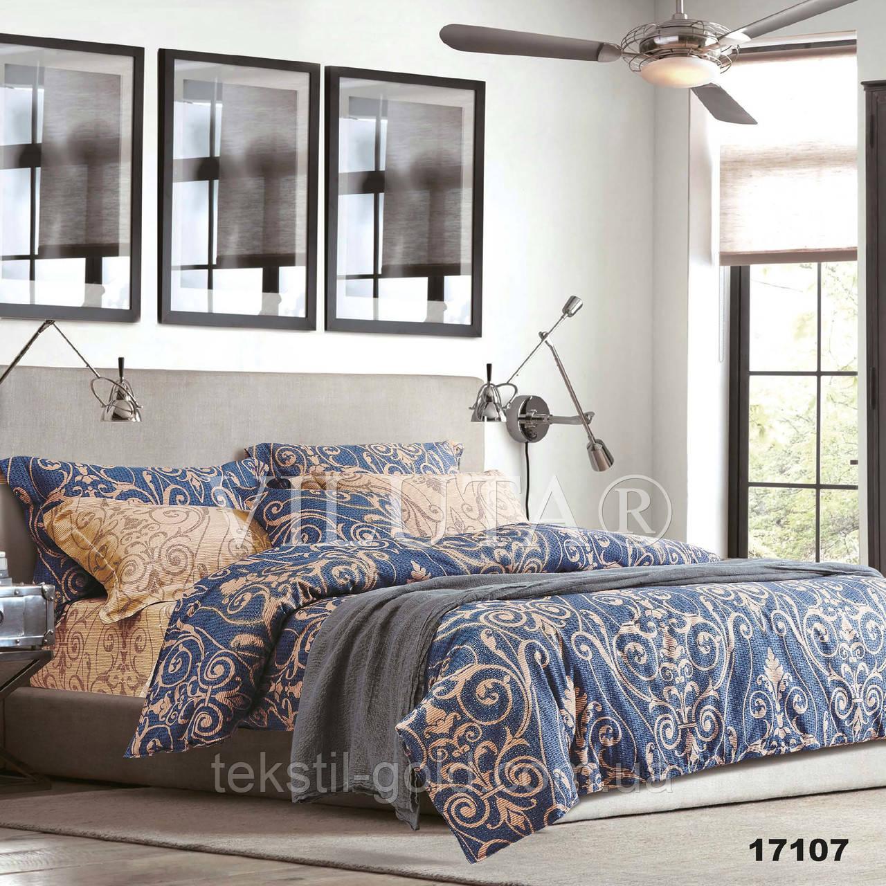 Двуспальный комплект постельного белья VILUTA ранфорс 17107