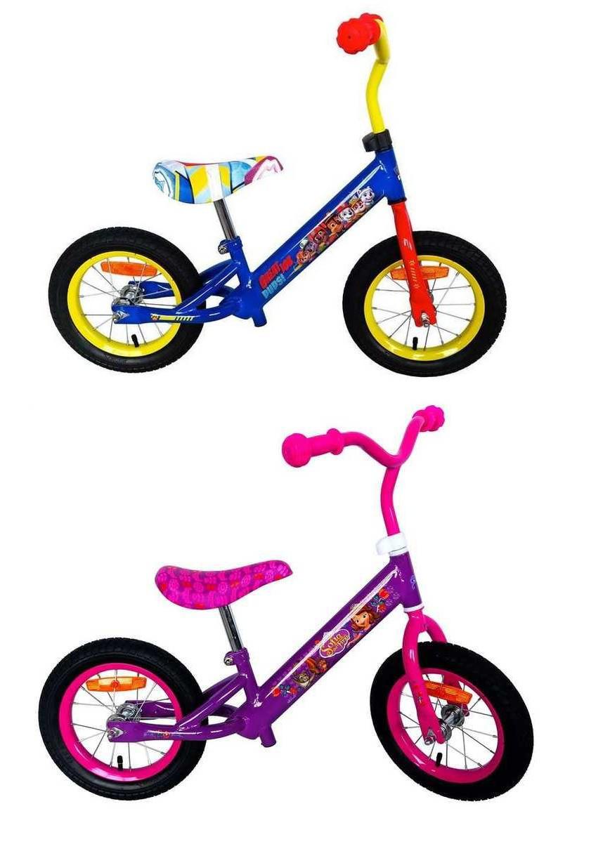 """Беговел SF 171203\17201 сталева рама, катафоти, колеса 12"""", велобіг від, байк, велосипед"""