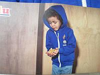 Кофта спортивная на молнии  для мальчика 2-3 года   Англия