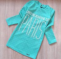 Детское платье - туника р.128-152 Париж