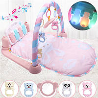 3 IN 1 Baby Фитнес Kick Play Музыкальное фортепиано Спортзал Play Baby Упражнение Упражнение Мать