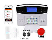 Беспроводная GSM сигнализация YL-007M2B (GSM 015) 30A