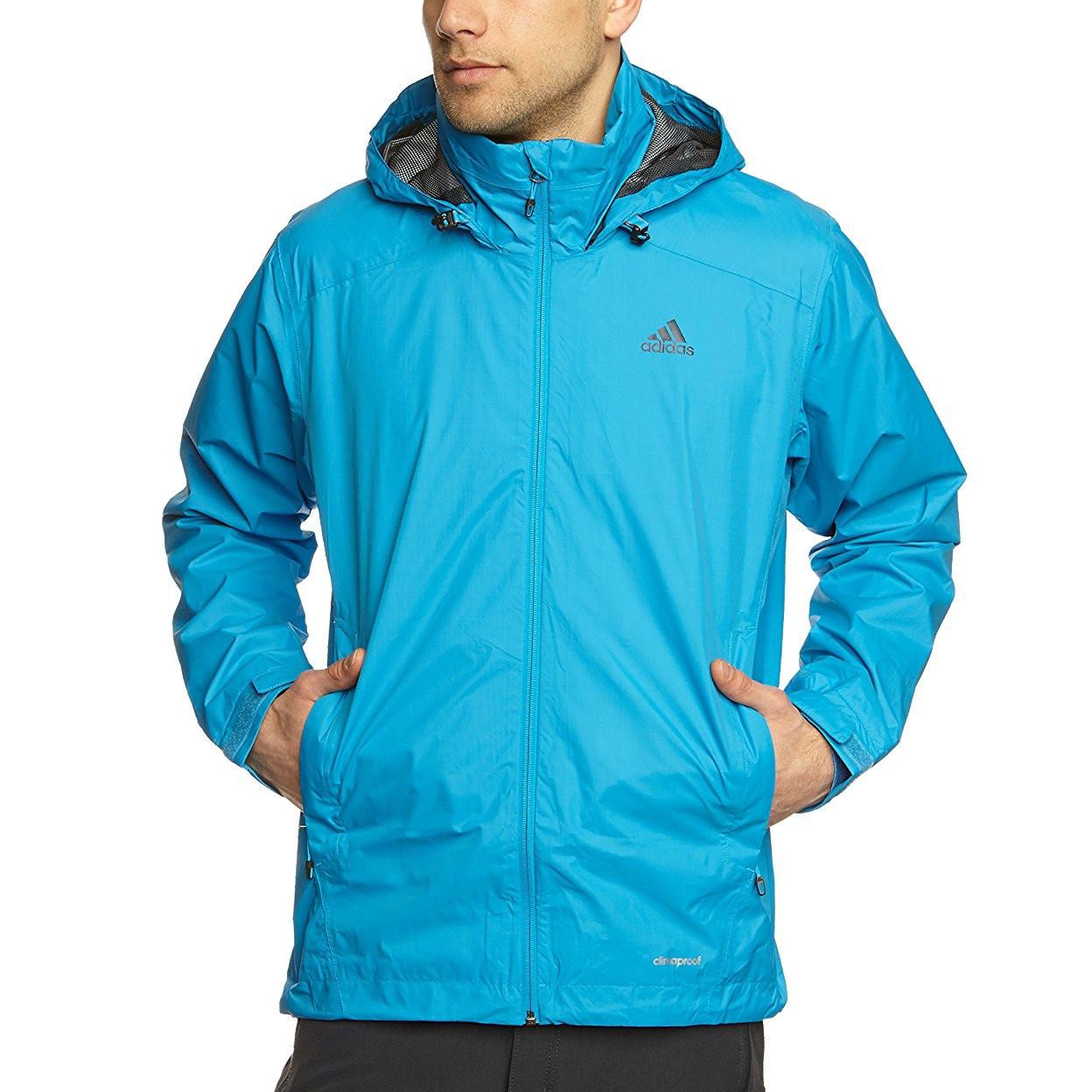 Ветровка спортивная мужская adidas Men's Hiking Wandertag Jacket D81993 адидас