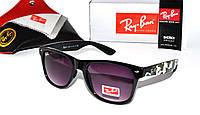 Солнцезащитные очки Ray Ban Wayfarer, Камуфляж, Защита UV-400