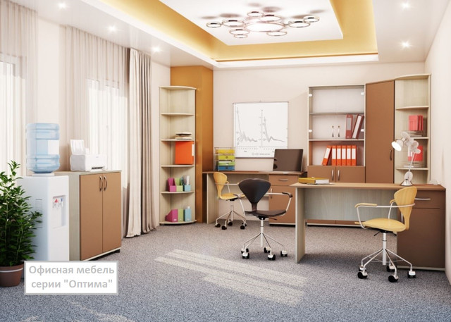 Офисная мебель серии Оптима