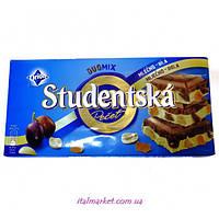 Шоколад Студенческая Studentska pecet Mlecno-bila 180г
