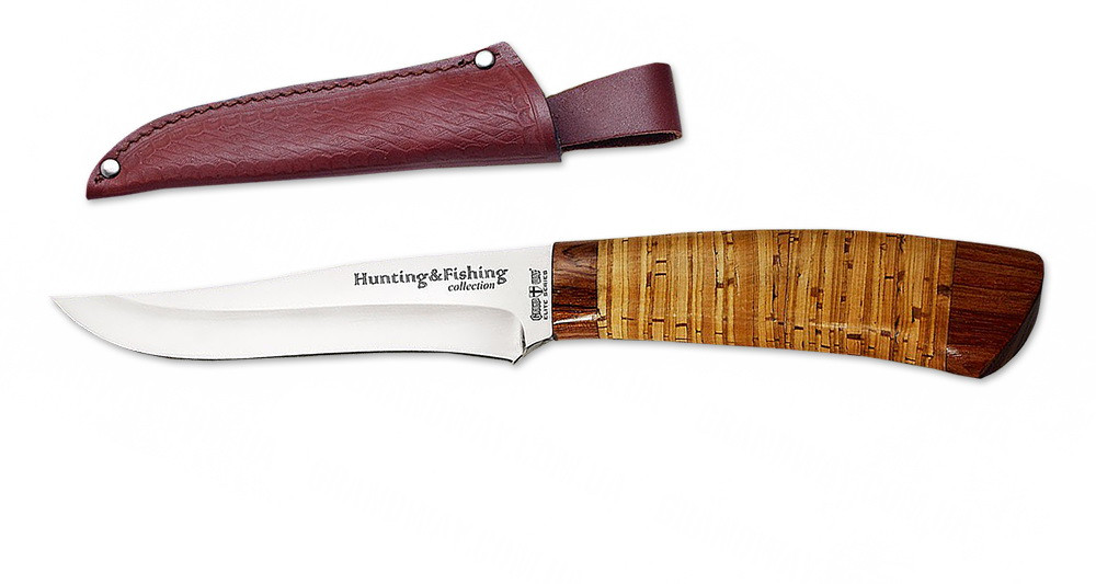 Нож охотничий 2256 BLP (нескладной нож для охоты) MHR /0-21