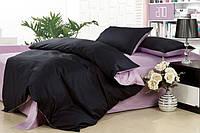 Однотонное постельное белье. Сатин. Семейный  комплект