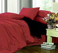 Семейное постельное белье из однотонного сатина, 100% хлопок