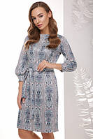 Стильное красивое платье прилегающего силуэта с поясом Разные цвета