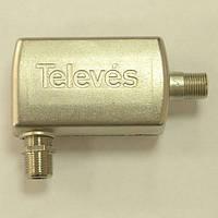 Режекторный перестраиваемый фильтр, децеметровый, ДМВ, фильтр телевизионный, Televes ref. 4007,