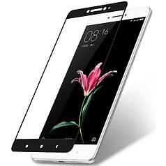 Защитное стекло для Xiaomi Mi Max 2 полноэкранное черное