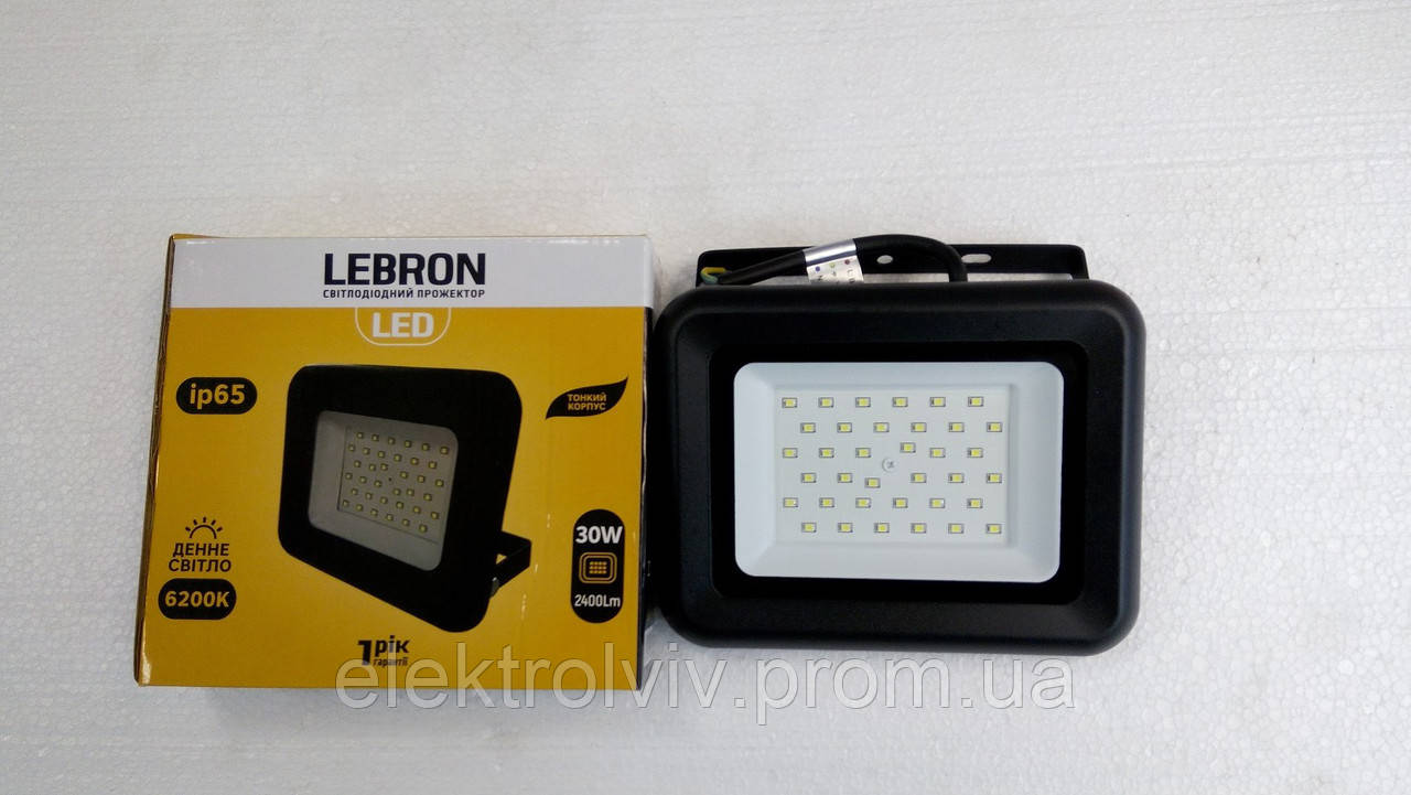 Прожектор LED Lebron 30w