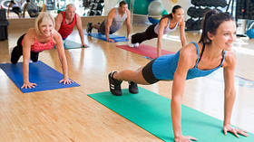 Коврики для фитнеса и спорта, универсальные.