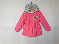 Демисезонная куртка для девочки 3-6 лет Розница +80 гр, фото 1