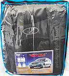Авто чехлы Lada Largus 2012- 5 мест (раздельная) Nika, фото 2