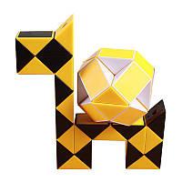 ОригинальнаяскоростьВолшебныйCubeЗмеяголоволомка Правитель Twist 24 блоки Обучающие забавные игрушки для детей