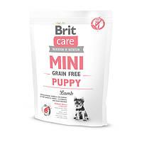 """Сухой корм Brit Care GF """"Mini PuppyLamb"""" (для щенков малых пород) 0.4 кг"""