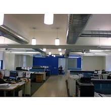 Монтаж вентиляции в офисном помещении