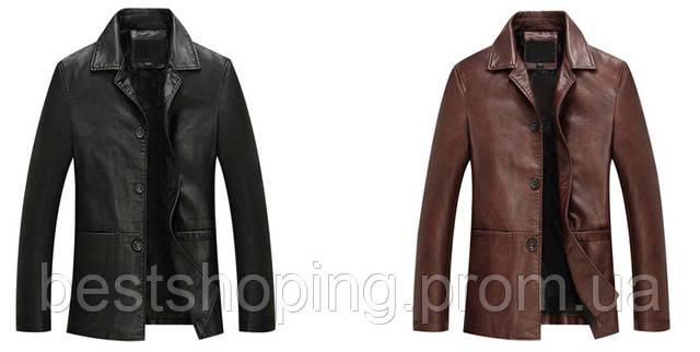 aae1aee16b7 Мужская кожаная куртка с натуральной кожи.Турция.