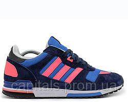 "Мужские кроссовки Adidas ZX 700 ""Navy/Light Blue/Rose"""