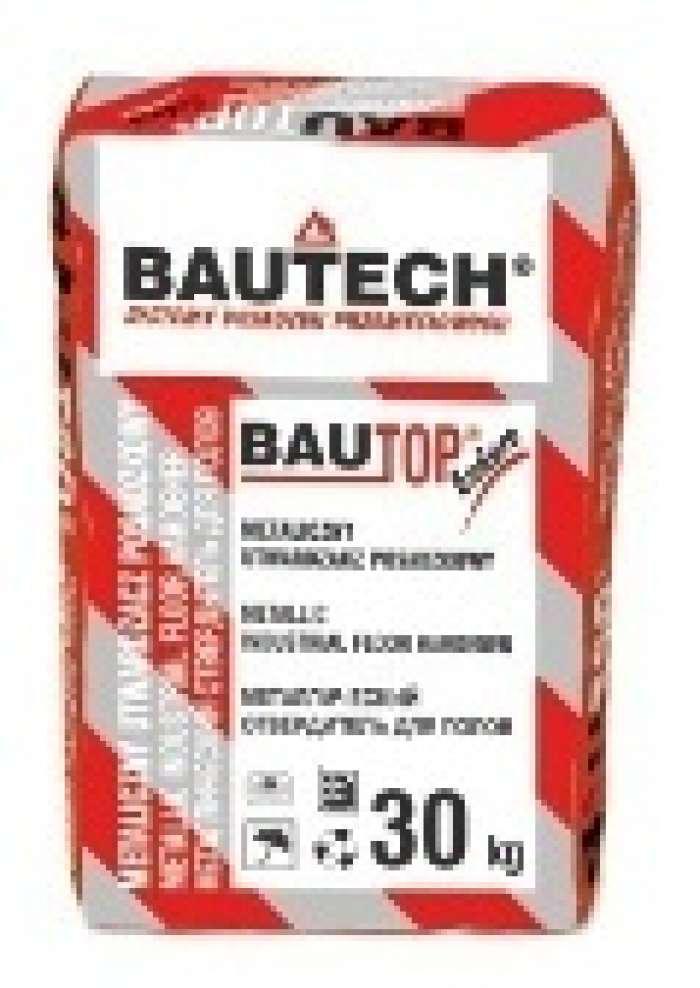 BAUTOP BT-404/Е титаново-серый - металлический отвердитель для полов
