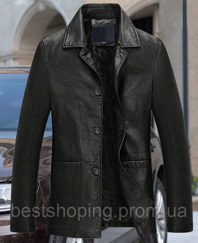 397edfa7e74 Мужская кожаная куртка с натуральной кожи.Турция. - Интернет-магазин
