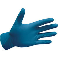 Перчатки нитриловые, голубые easyCARE - 100 пар/уп, XS, S, фото 1