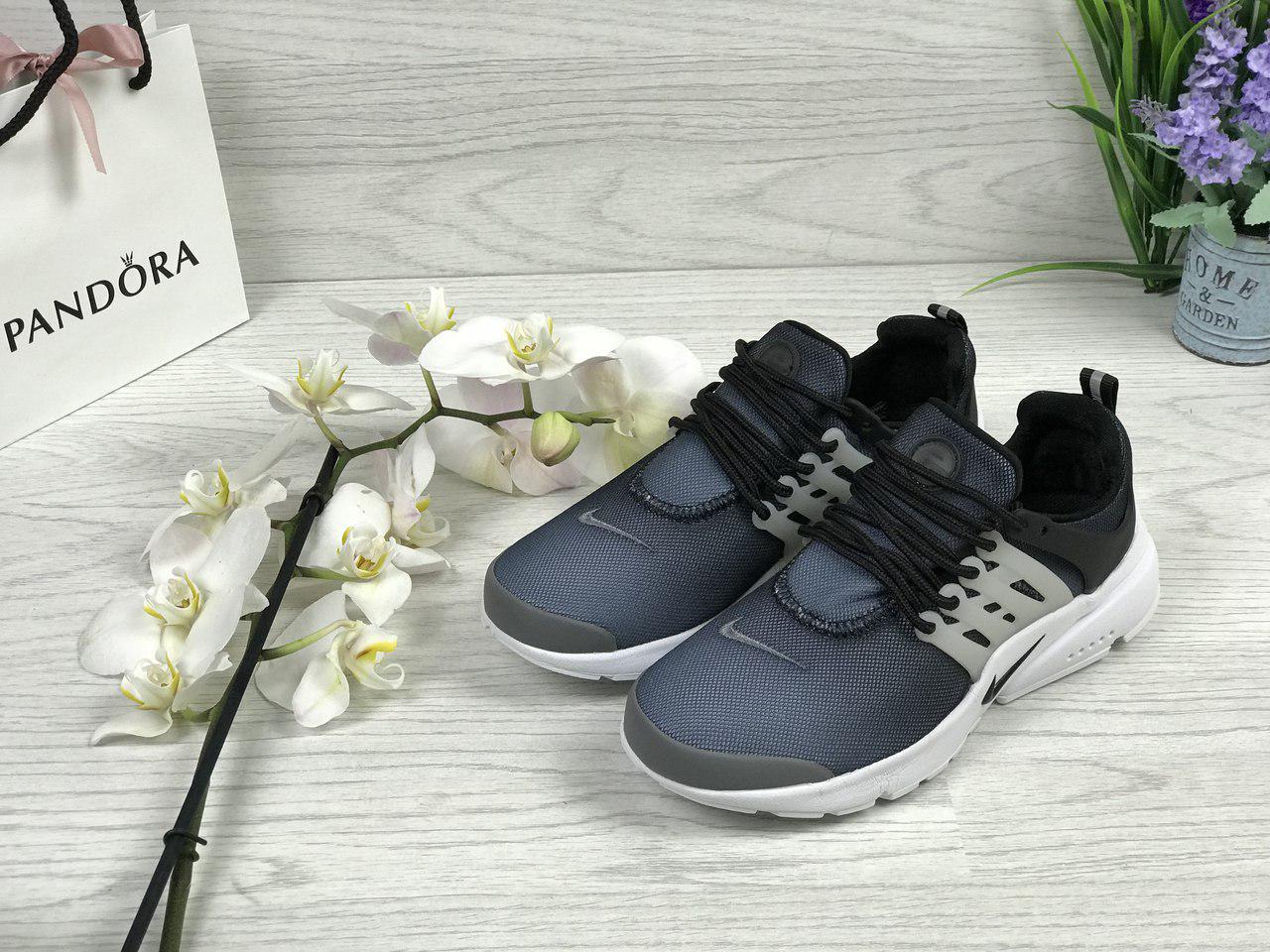 Кросівки жіночі Nike Air Presto (сині), ТОП-репліка
