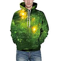 Unisex 3D Hoodies Sweatshirt Gift Green Forest Pullover Повседневный с капюшоном Спортивный костюм Drawstring Sweater