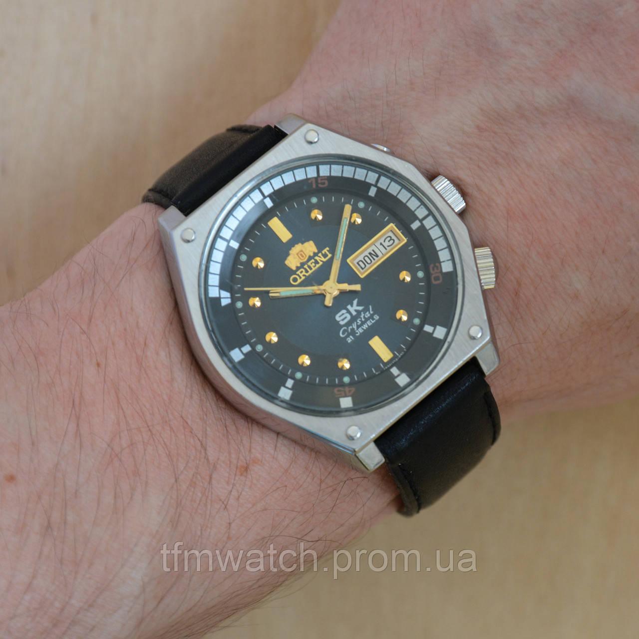 d1c5cc87 Orient SK Crystal механические часы автоподзавод Япония - Магазин  старинных, винтажных и антикварных часов TFMwatch