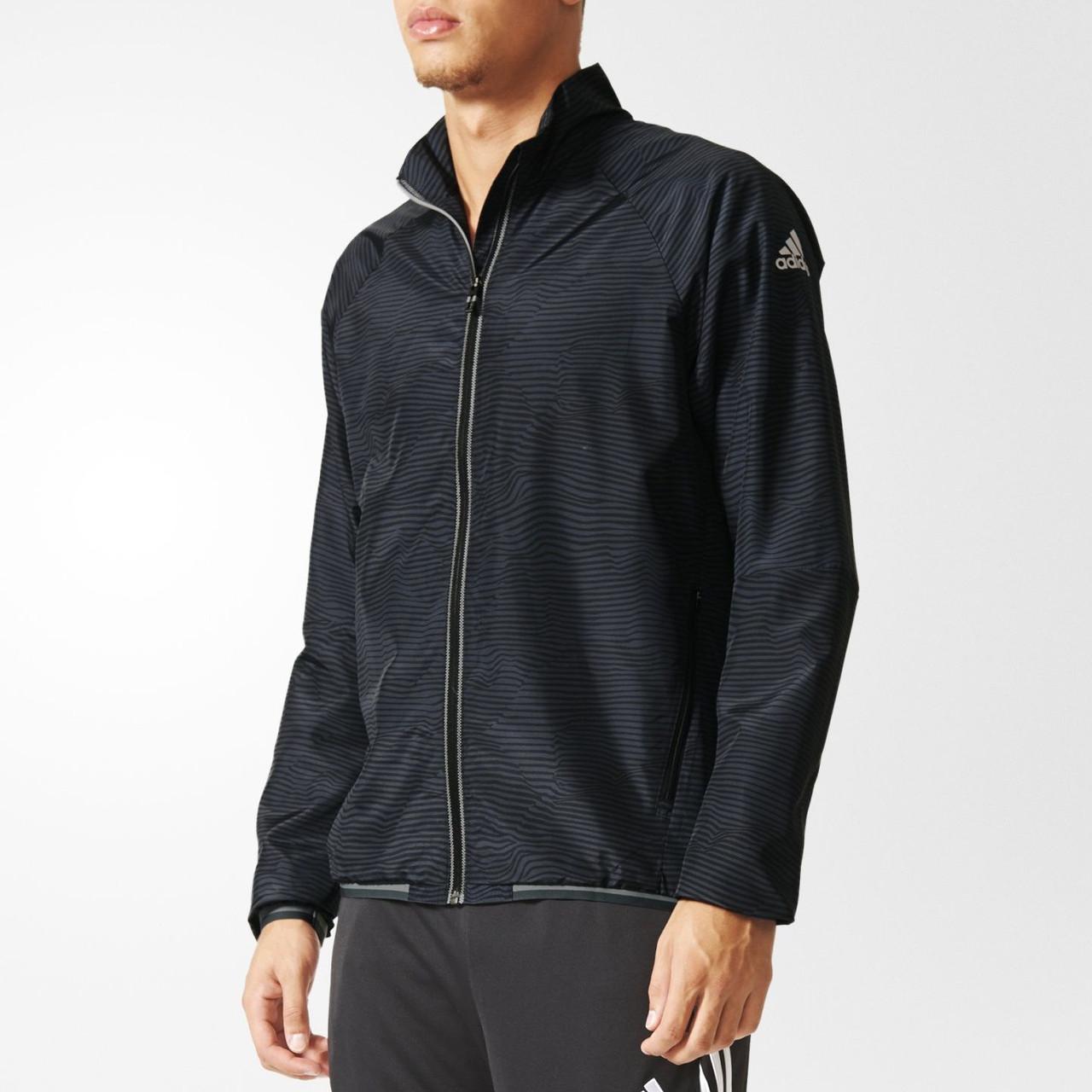 Ветровка спортивная мужская adidas XA Woven Jacket Track Top Training AB1309 адидас